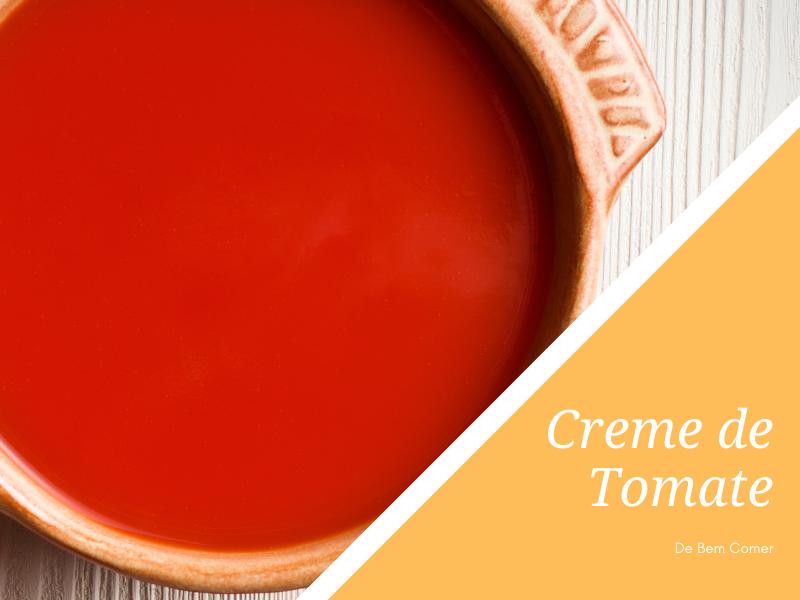 Creme de tomate