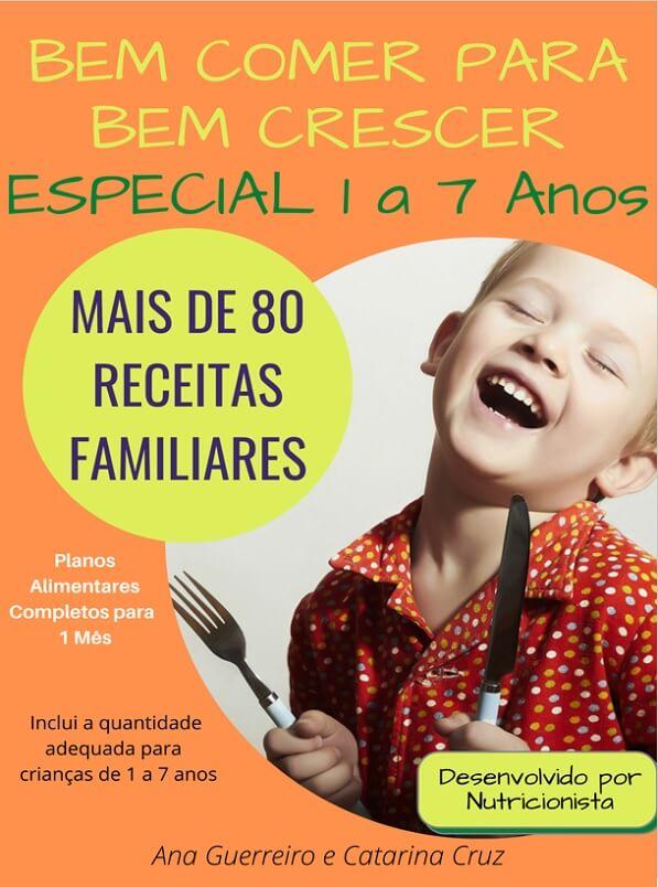 ebook alimentação crianças